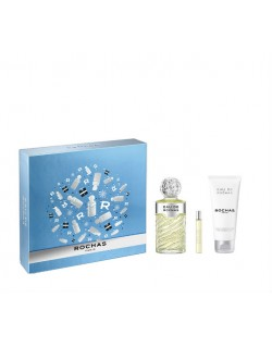 Estuche de regalo EAU DE ROCHAS FEMME (EDT 100+ Body Lotion 100 ml + edt 7.5ml)