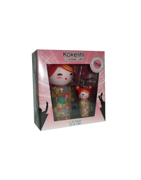 kokeshi LITCHEE by Jeremy Scott EDT