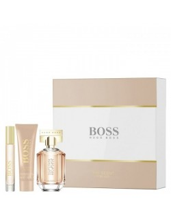 Hugo Boss The Scent for her ESTUCHE (EDP 50ml+ B.Lotion 50ml+ Purse spray 7,4ml)