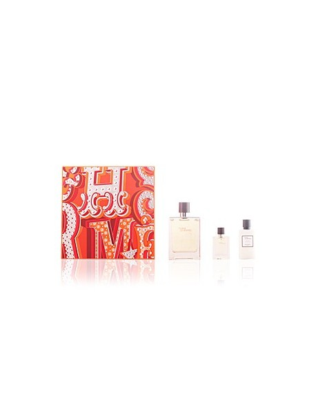 Terre D'Hermes ESTUCHE (EDT 100ml+ EDT 12.5ml+AS 40ml)