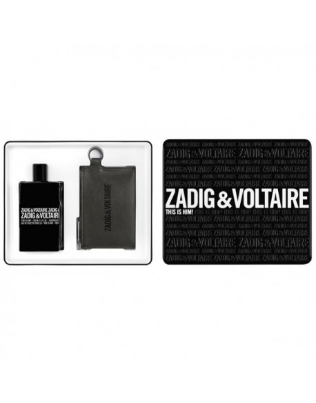 Zadig & Voltaire This is Him ESTUCHE (EDT 100ml+cartera)