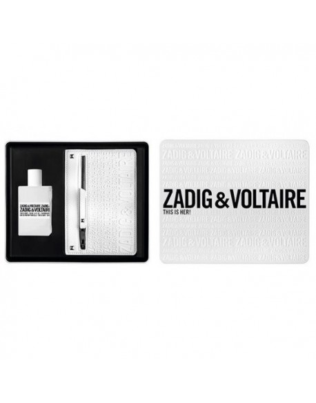 Zadig & Voltaire This is her ESTUCHE (EDT 50ml+ cartera)